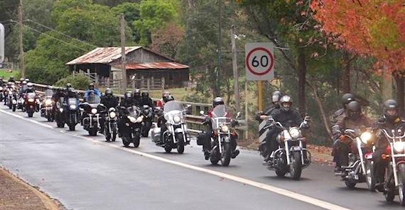 Black Dog Ride  Qld