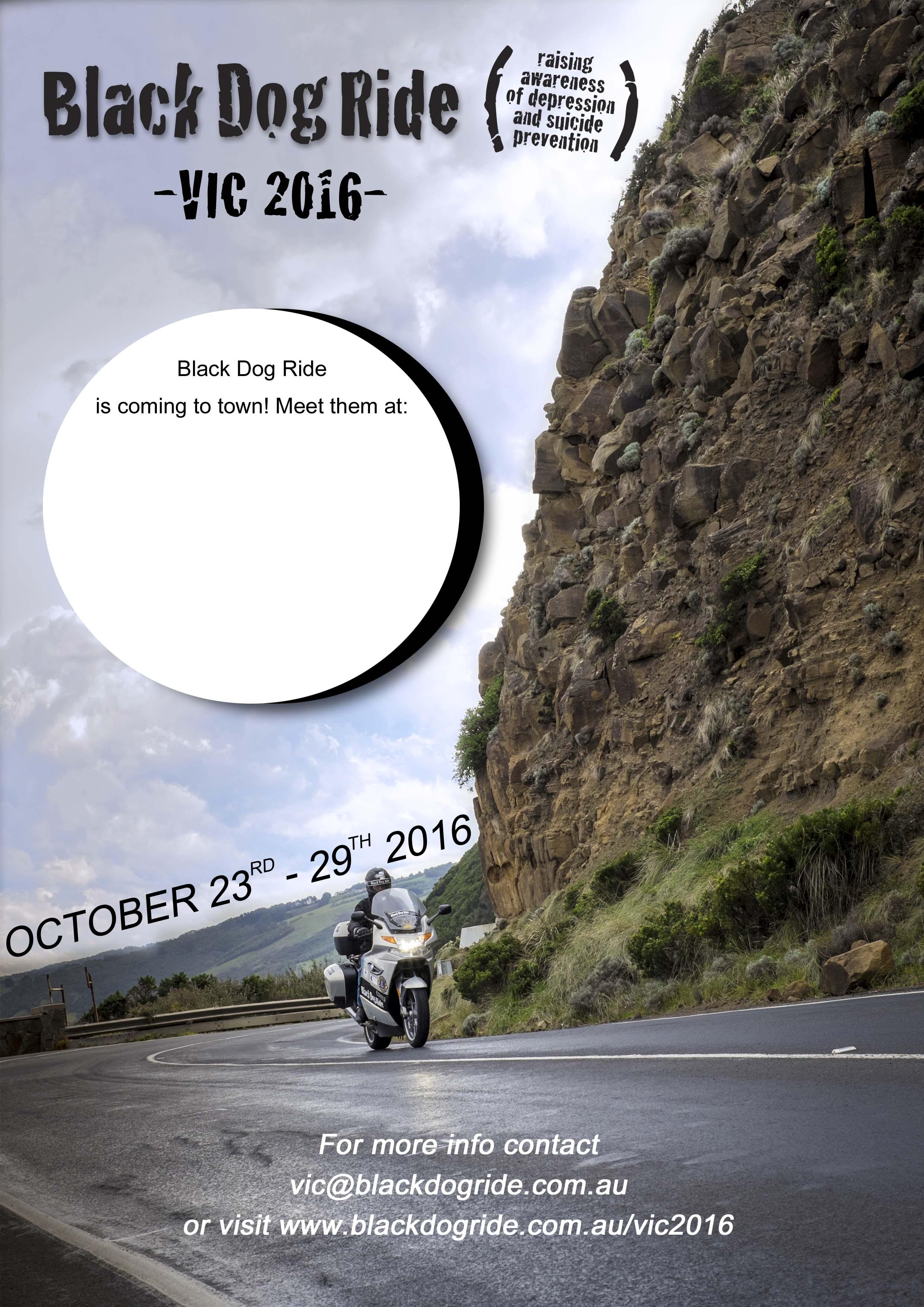 Black Dog Ride Bendigo